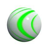 кнопка 3d сферически Стоковые Изображения RF
