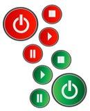 кнопка Иллюстрация штока
