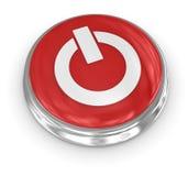 кнопка 3d Стоковая Фотография