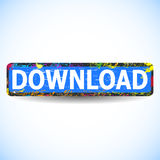 Кнопка Download. Стоковая Фотография