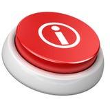 кнопка info Стоковое Фото