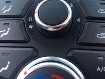 Кнопки автомобиля Стоковые Изображения RF
