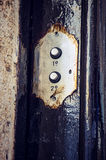 2 кнопки дверного звонока Стоковые Фото