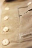 Кнопки в ряд Стоковая Фотография RF