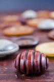 Кнопки год сбора винограда Стоковое Изображение