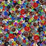 кнопки делают по образцу безшовный сбор винограда Стоковая Фотография
