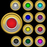 кнопки доск широкие Стоковая Фотография