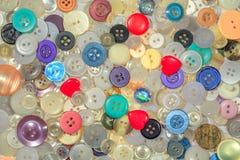 Кнопки других цветов и дизайнов, заполняя всю рамку стоковое фото