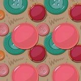 кнопки делают по образцу безшовное также вектор иллюстрации притяжки corel бесплатная иллюстрация