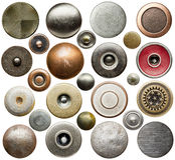 Кнопки джинсов Стоковые Фотографии RF