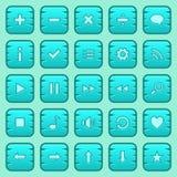 Кнопки игры Стоковые Изображения