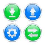 Кнопки интернет-трафика. бесплатная иллюстрация