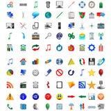 Кнопки и иконы 08.12.12 Стоковые Изображения