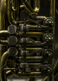 Кнопки и клапаны пальца трубы Стоковая Фотография RF
