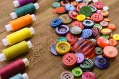 Кнопки и резьбы стоковое изображение rf