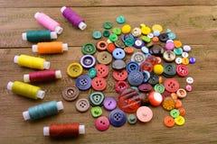 Кнопки и резьбы стоковая фотография rf