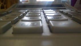 Кнопки калькулятора Стоковые Фотографии RF