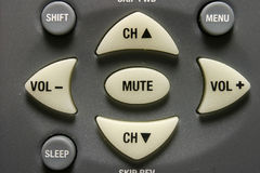 кнопки контролируют remote Стоковая Фотография RF