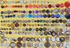 кнопки красят различным Стоковая Фотография RF