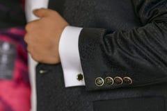 Кнопки куртки Стоковая Фотография RF