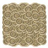 Кнопки металла Стоковые Изображения RF