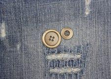 Кнопки металла Стоковая Фотография