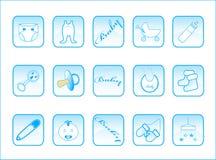 кнопки младенца Стоковое Изображение