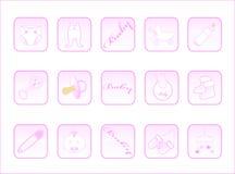 кнопки младенца Стоковая Фотография
