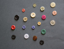 Кнопки на таблице Стоковые Фото