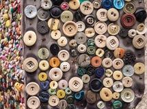 Кнопки одежды стоковая фотография
