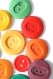 кнопки покрасили стоковые фото