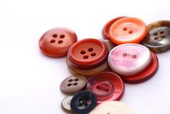 кнопки покрасили Стоковая Фотография