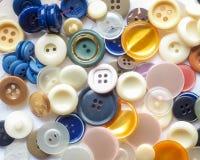 кнопки покрасили Стоковые Изображения