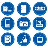 кнопки приборов самонаводят Стоковая Фотография