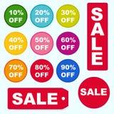 Кнопки продажи Стоковые Изображения