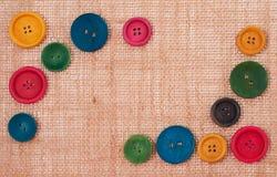 Кнопки рамки стоковое фото rf