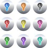 кнопки шарика бесплатная иллюстрация