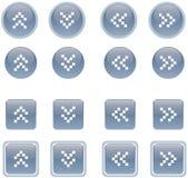 кнопки 1 Стоковые Фотографии RF