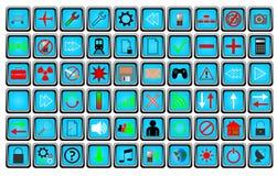 Кнопки Стоковые Изображения