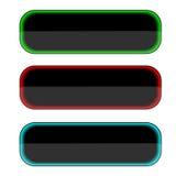 кнопки 3 Стоковое Фото