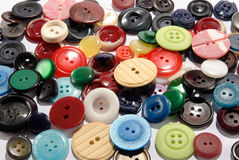 кнопки Стоковые Фотографии RF