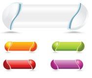 кнопки 3d иллюстрация штока