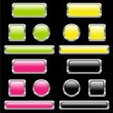 кнопки Стоковое Изображение RF