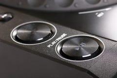 кнопки cd dj играют стоп игрока Стоковые Изображения