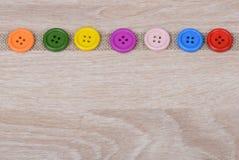 Кнопки Colurful Стоковые Фото