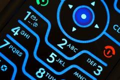 кнопочная панель мобильного телефона Стоковое Изображение