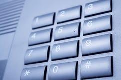 Кнопочная панель телефона Стоковые Фотографии RF