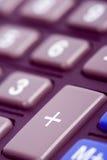 кнопочная панель чалькулятора Стоковые Изображения RF