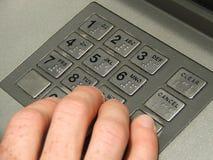 кнопочная панель atm Стоковое фото RF