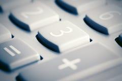 Кнопочная панель калькулятора Стоковые Изображения RF